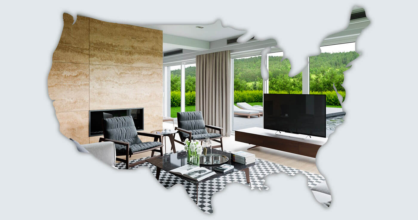 A Study Into the Most Prominent Interior Design Trends, State by State